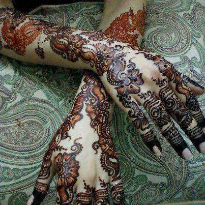 Best & Special Mehndi Designs Collection for Eid & Festivals 2014-2015 (20)