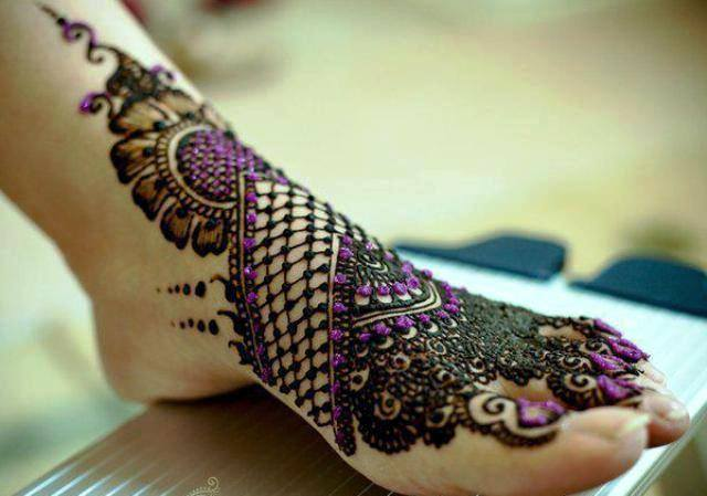 Best & Special Mehndi Designs Collection for Eid & Festivals 2014-2015 (25)