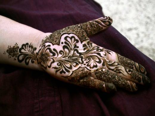Best & Special Mehndi Designs Collection for Eid & Festivals 2014-2015 (28)