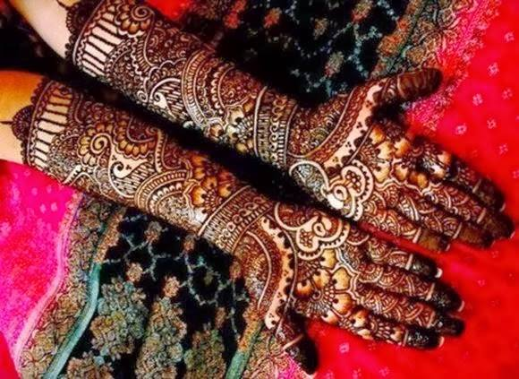 Best & Special Mehndi Designs Collection for Eid & Festivals 2014-2015 (5)