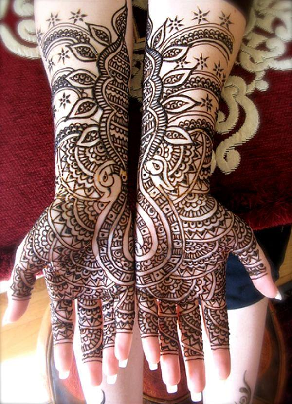 Best & Special Mehndi Designs Collection for Eid & Festivals 2014-2015 (6)