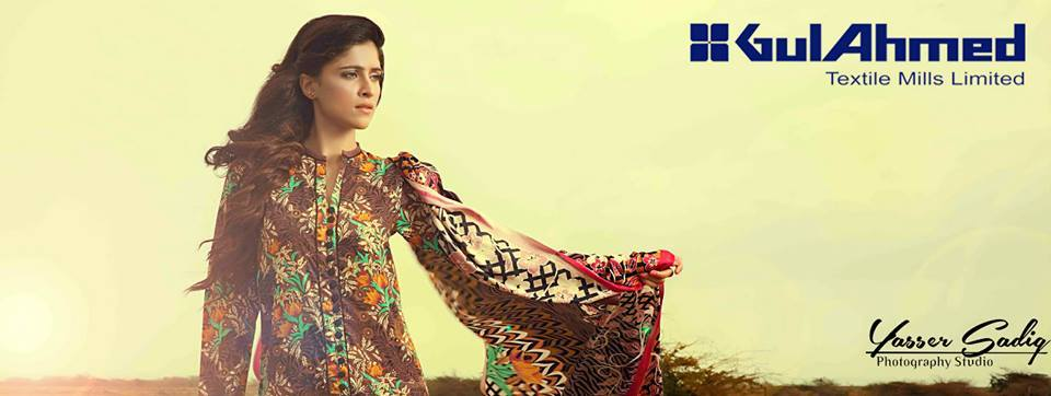 Gul Ahmed Best Winter Dresses Collection for Women 2014-2015 (10)