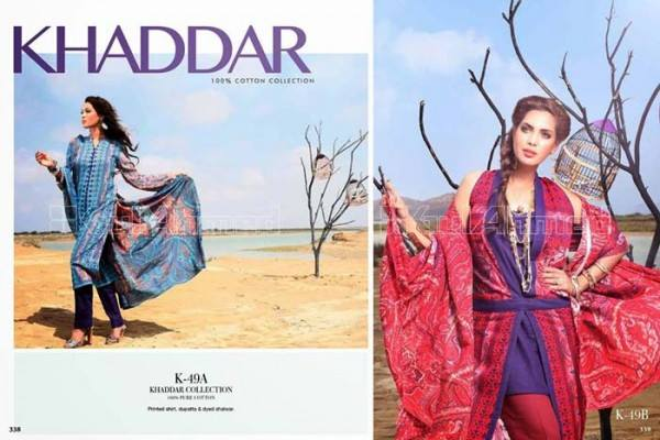 Gul Ahmed Best Winter Dresses Collection for Women 2014-2015 (12)