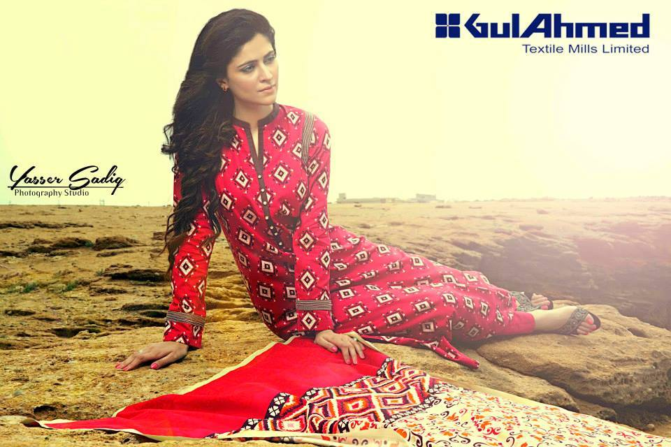 Gul Ahmed Best Winter Dresses Collection for Women 2014-2015 (14)