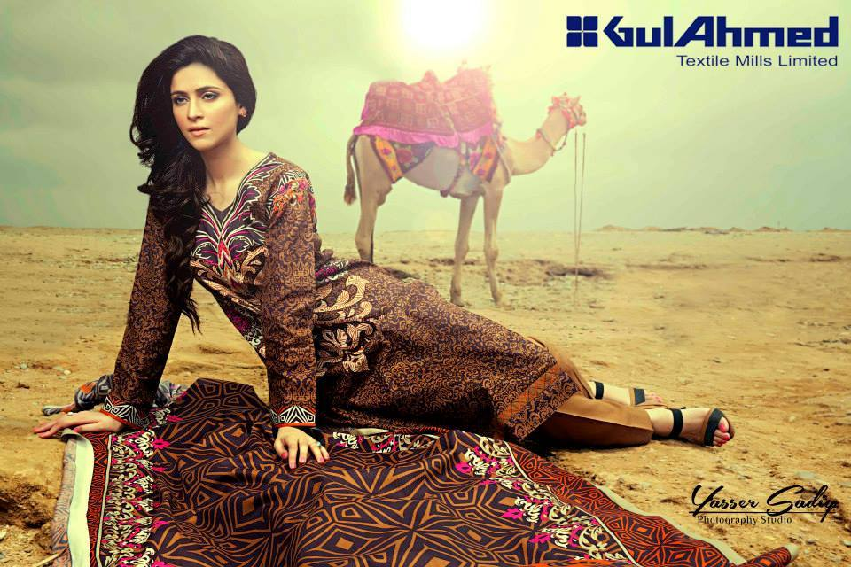 Gul Ahmed Best Winter Dresses Collection for Women 2014-2015 (21)