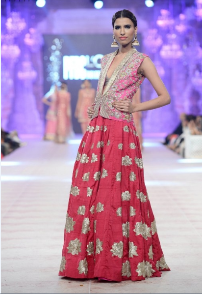 Karma Red Latest Bridal Collections at  PFDC L'Oréal Paris Bridal Fashion Week-2014-2015 (1)