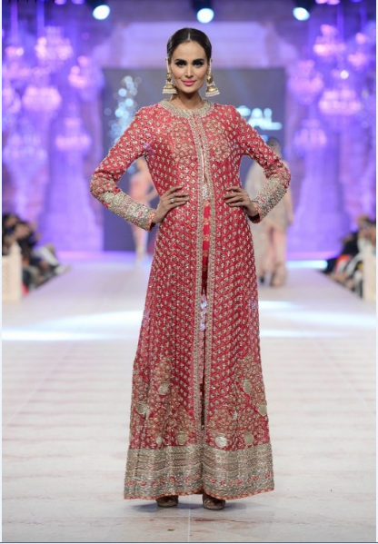 Karma Red Latest Bridal Collections at  PFDC L'Oréal Paris Bridal Fashion Week-2014-2015 (3)