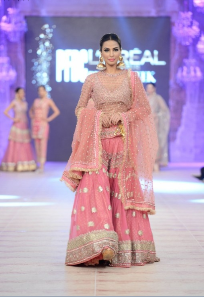 Karma Red Latest Bridal Collections at  PFDC L'Oréal Paris Bridal Fashion Week-2014-2015 (4)