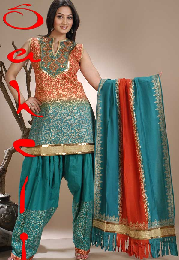 Latest Collection of Indian & Pakistani Best Neck-line (Gala) designs for Girls 2014-2015 (3)