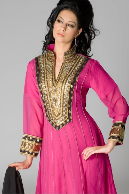 Latest Indian & Pakistani Best Neck-line (Gala) designs for Girls 2014-2015 (5)