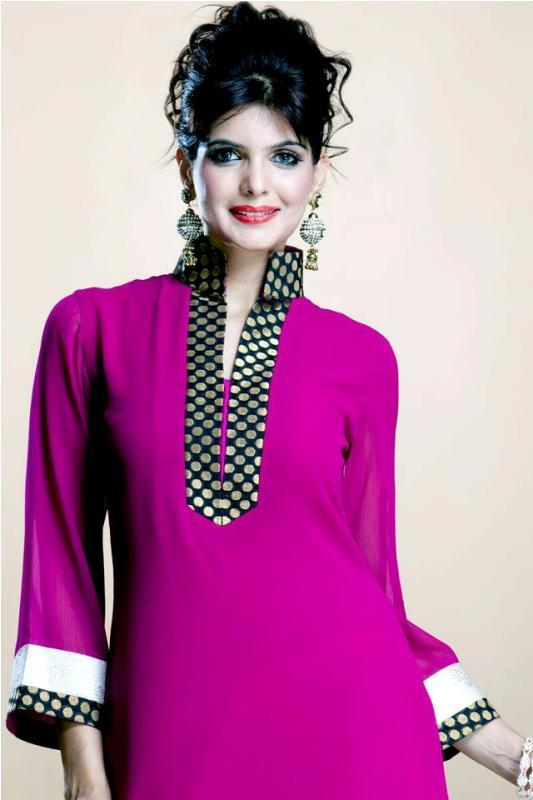Latest Indian & Pakistani Best Neck-line (Gala) designs for Girls 2014-2015 (6)
