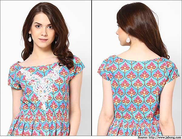 Latest Indian & Pakistani Best Neck-line (Gala) designs for Girls 2014-2015 (7)