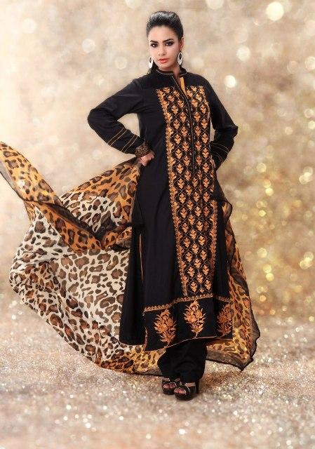 Latest Winter Fashion Long Shirts Dress Designs Collection for Women 2019