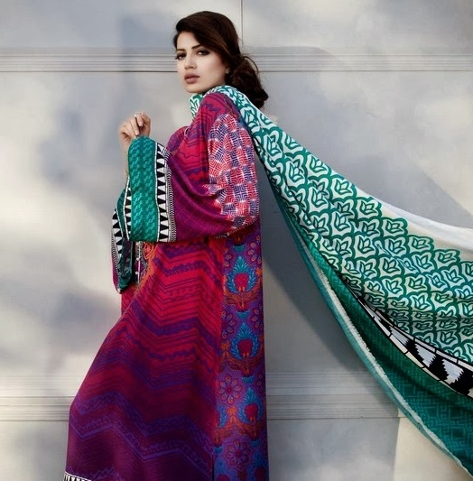 Latest Winter Fashion Long Shirts Dress Designs Collection for Women 2014-2015 (28)