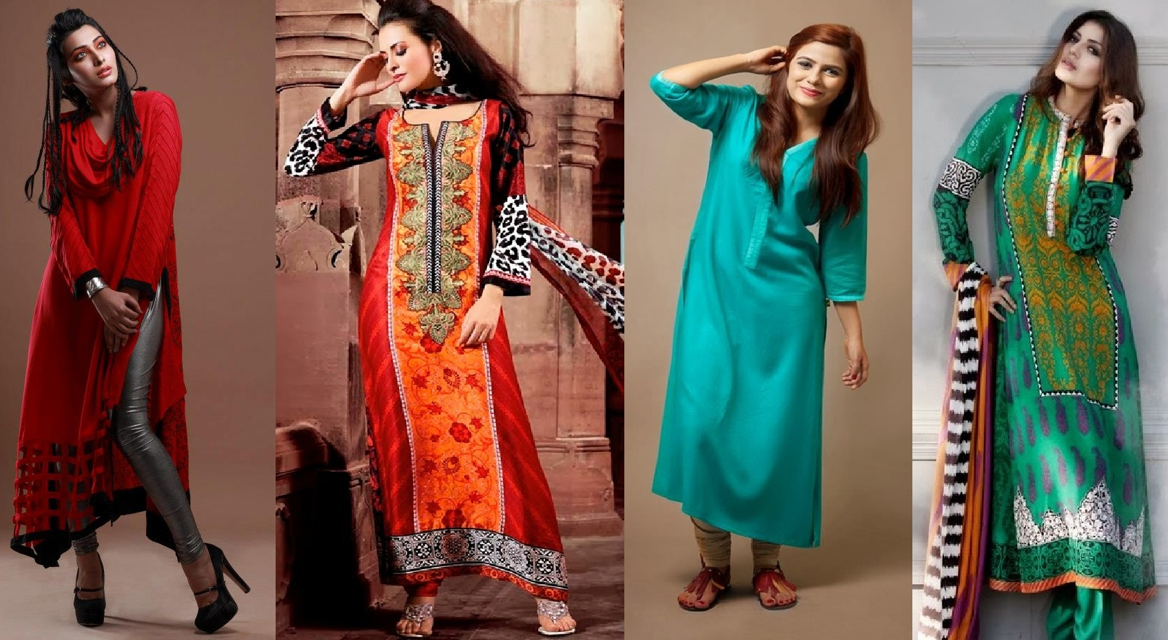 latest winter fashion long shirts dress designs 20142015