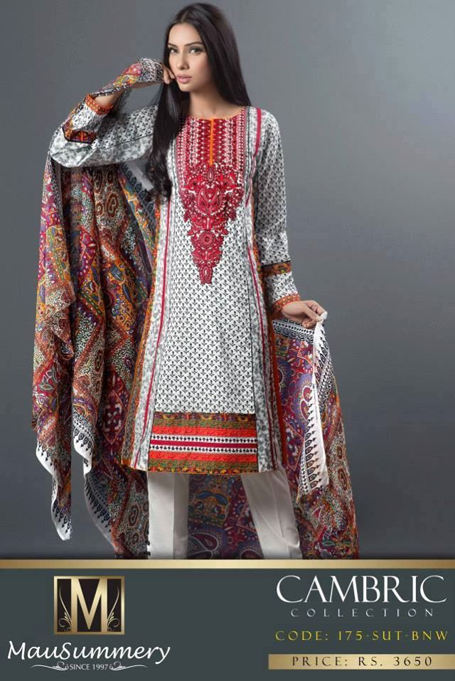 Mausummery Fall winter Dresses Collection 2014-15 with Prices for women (14)