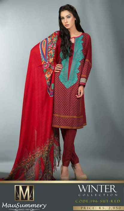 Mausummery Fall winter Dresses Collection 2014-15 with Prices for women (18)