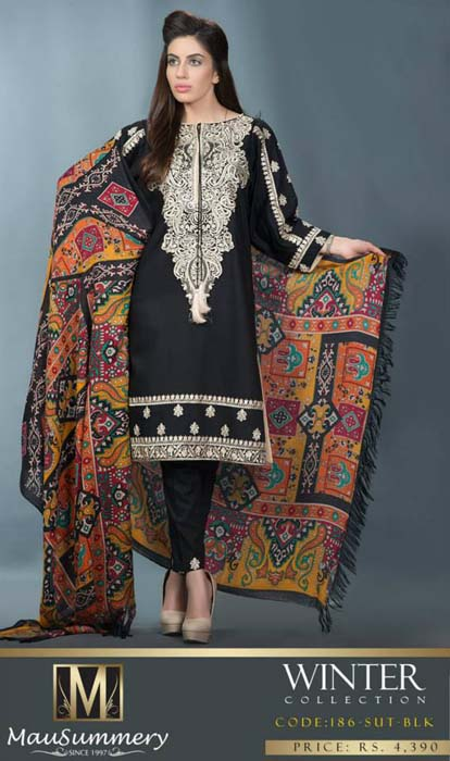 Mausummery Fall winter Dresses Collection 2014-15 with Prices for women (23)