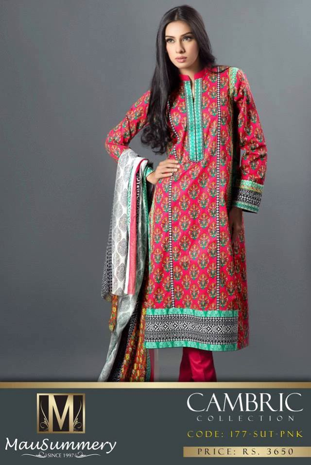 Mausummery Fall winter Dresses Collection 2014-15 with Prices for women (7)