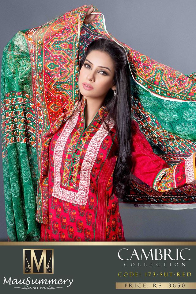 Mausummery Fall winter Dresses Collection 2014-15 with Prices for women (9)