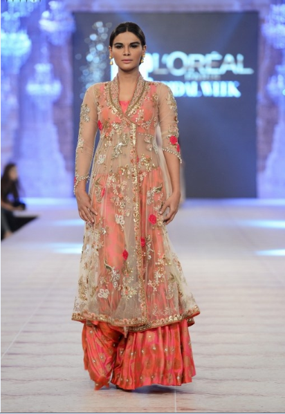 Misha Lakhani Latest Wedding Collections at  PFDC L'Oréal Paris Bridal Fashion Week-2014-2015 (1)