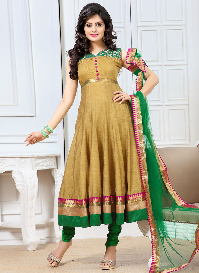 New Indian Kalidar Suits Salwar Kameez Dresses Collection for Girls 2014-2015 (10)