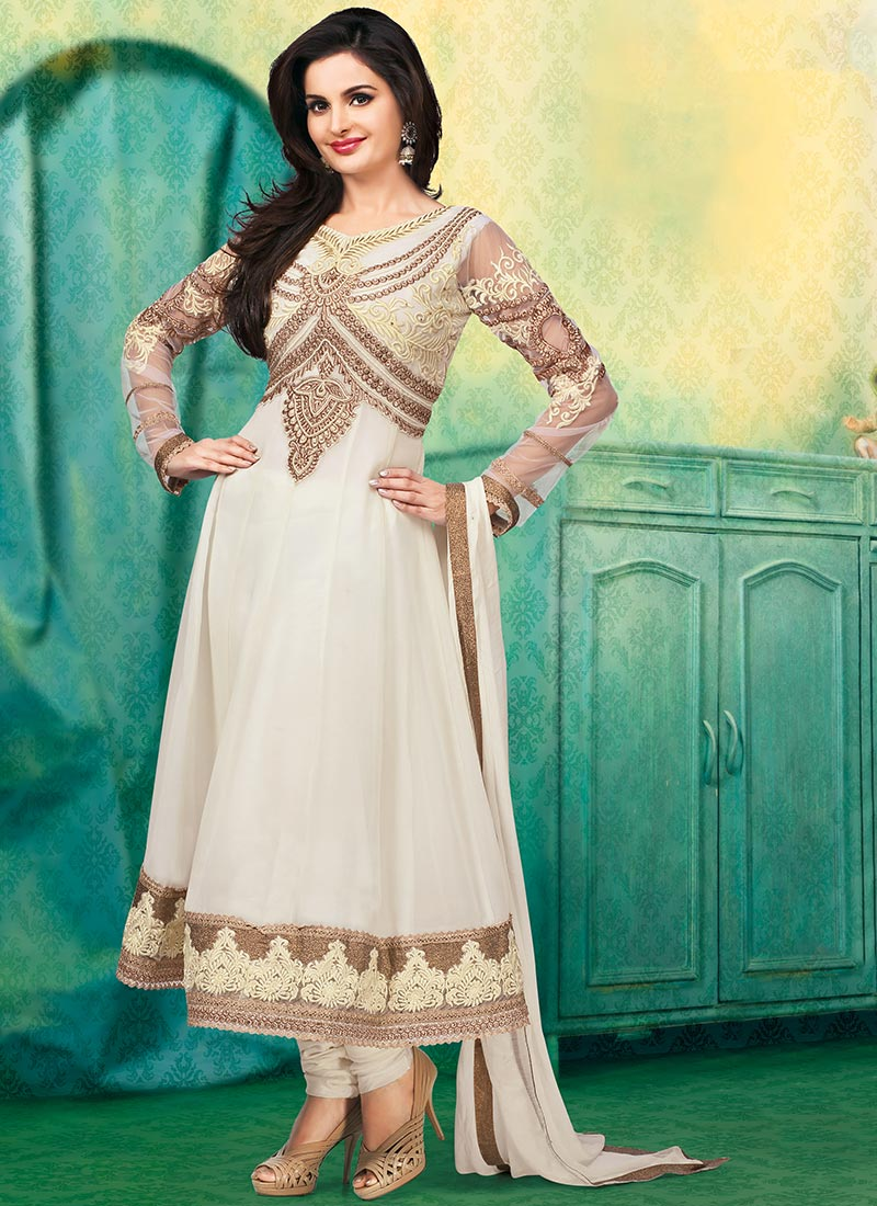 New Indian Kalidar Suits Salwar Kameez Dresses Collection for Girls 2014-2015 (6)