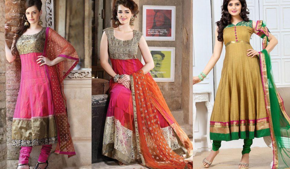Latest Indian Fashion Kalidar Suits Salwar Kameez Designs