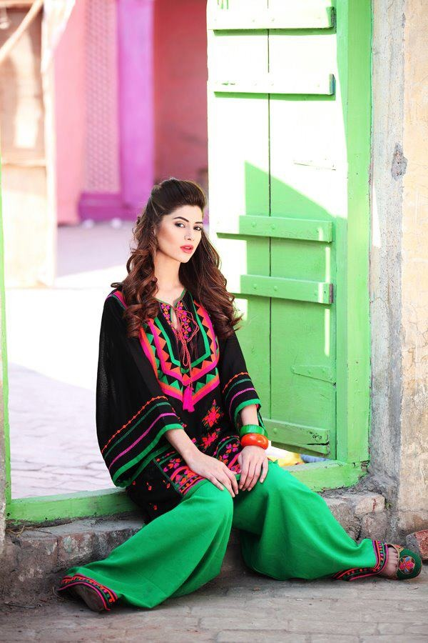 New Trends of Women Fashion Kurtis with Palazzo Pants in Asian Countries for Girls 2014-2015 (14)