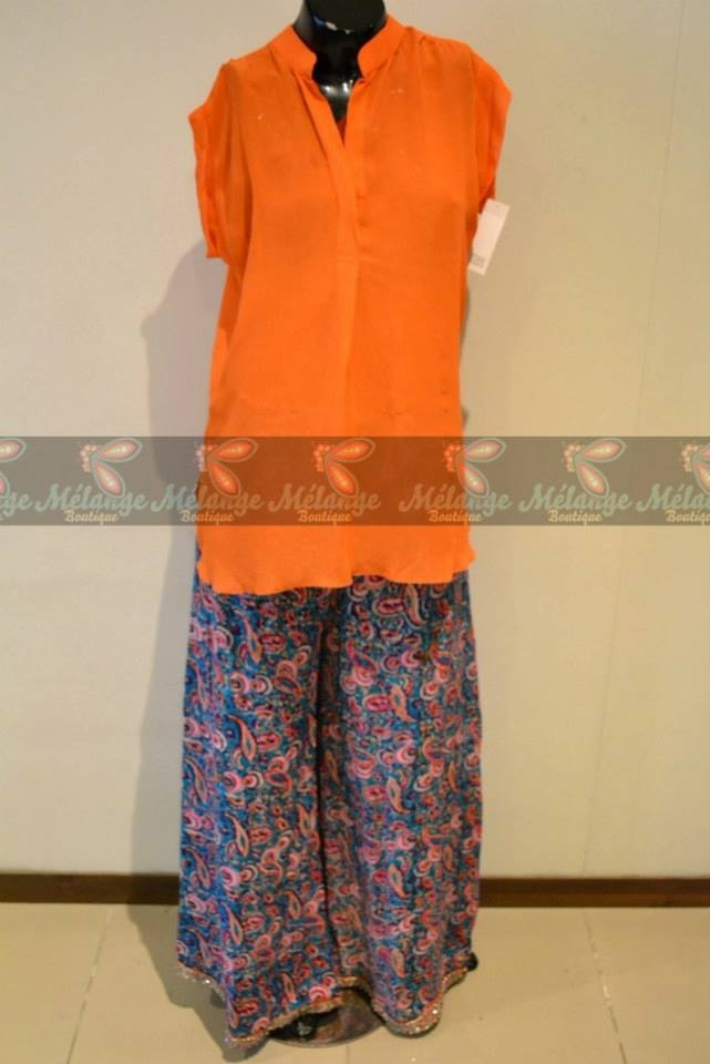 New Trends of Women Fashion Kurtis with Palazzo Pants in Asian Countries for Girls 2014-2015 (25)