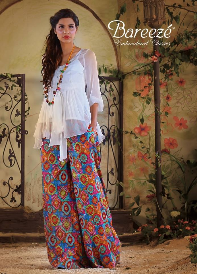 New Trends of Women Fashion Kurtis with Palazzo Pants in Asian Countries for Girls 2014-2015 (32)