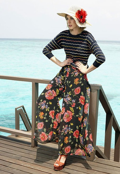 New Trends of Women Fashion Kurtis with Palazzo Pants in Asian Countries for Girls 2014-2015 (39)