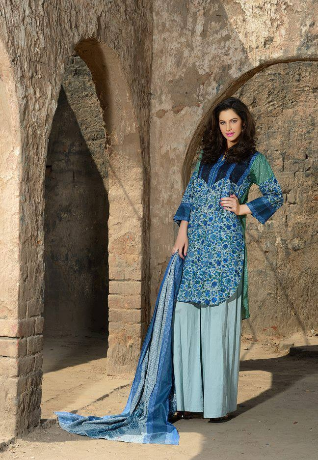 New Trends of Women Fashion Kurtis with Palazzo Pants in Asian Countries for Girls 2014-2015 (54)