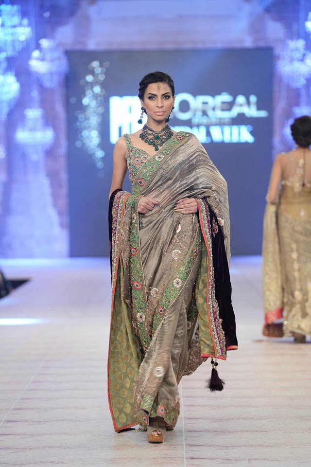 Nickie Nina Latest Bridal Collections at  PFDC L'Oréal Paris Bridal Fashion Week-2014-2015 (5)