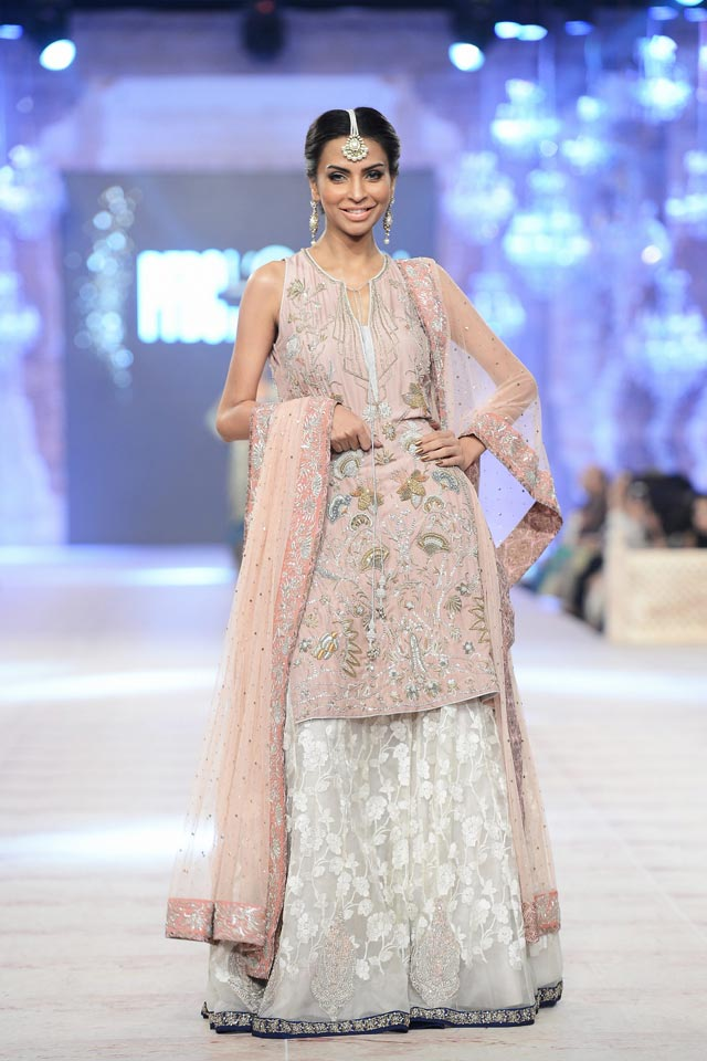 Nida Azwer Latest Bridal Collections at  PFDC L'Oréal Paris Bridal Fashion Week-2014-2015 (2)