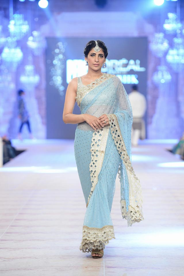 Nida Azwer Latest Bridal Collections at  PFDC L'Oréal Paris Bridal Fashion Week-2014-2015 (3)