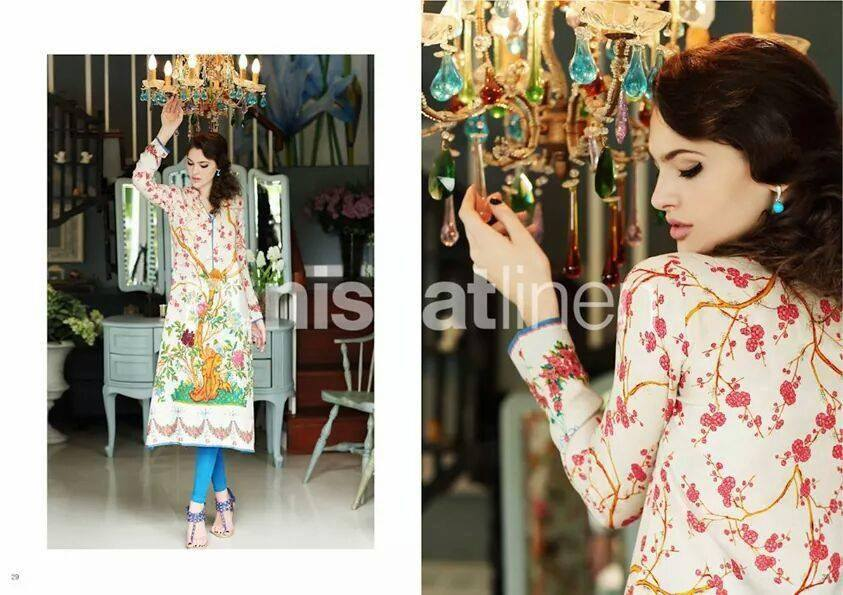 Nishat Linen Latest Winter Dresses Collection for Women 2014-2015 (11)
