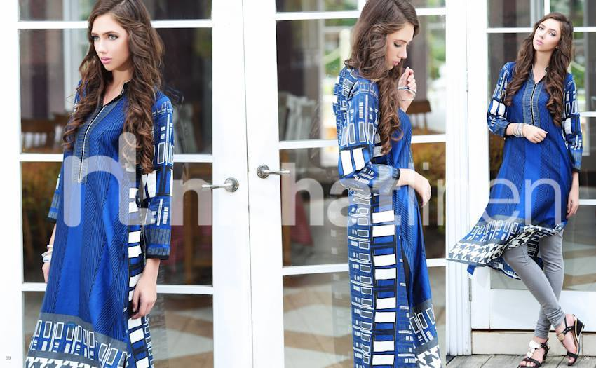 Nishat Linen Latest Winter Dresses Collection for Women 2014-2015 (13)