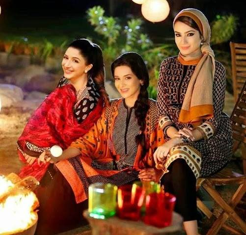 Nishat Linen Latest Winter Dresses Collection for Women 2014-2015 (17)