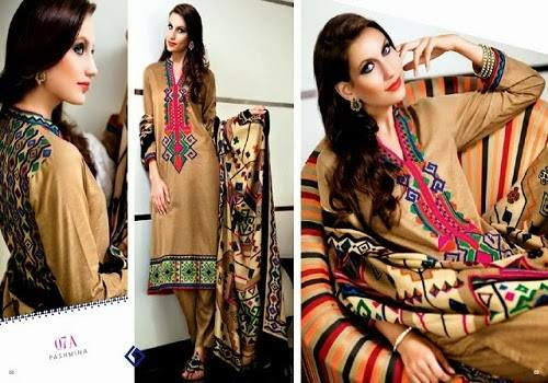 Nishat Linen Latest Winter Dresses Collection for Women 2014-2015 (20)