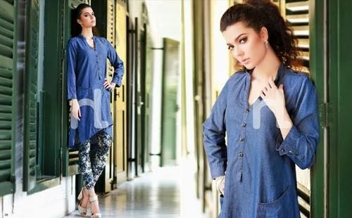 Nishat Linen Latest Winter Dresses Collection for Women 2014-2015 (22)