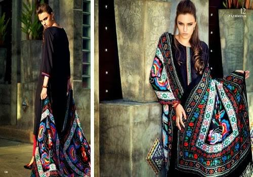 Nishat Linen Latest Winter Dresses Collection for Women 2014-2015 (26)