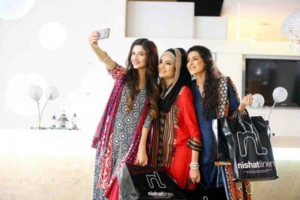 Nishat Linen Latest Winter Dresses Collection for Women 2014-2015 (6)