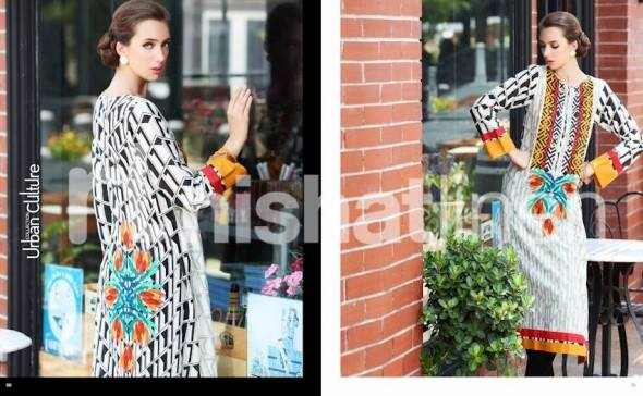 Nishat Linen Latest Winter Dresses Collection for Women 2014-2015 (9)