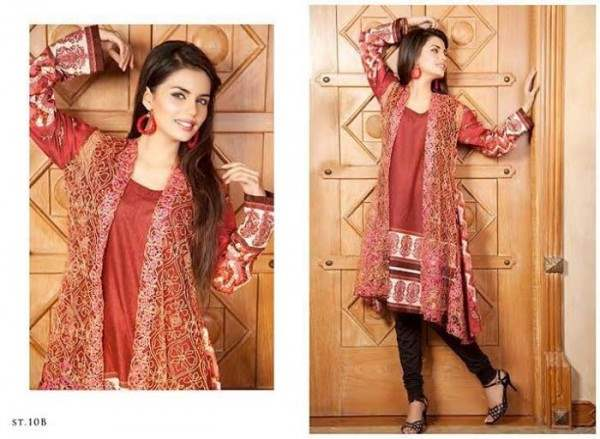 Rabea by Shariq Textiles Linen Kurti Collection 2014-15 for Girls (14)