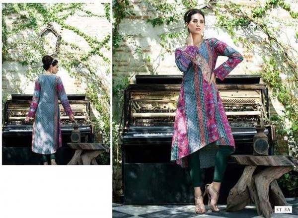 Rabea by Shariq Textiles Linen Kurti Collection 2014-15 for Girls (22)