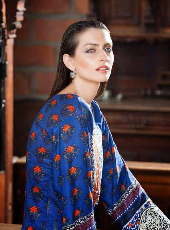 Rabea by Shariq Textiles Linen Kurti Collection 2014-15 for Girls (28)