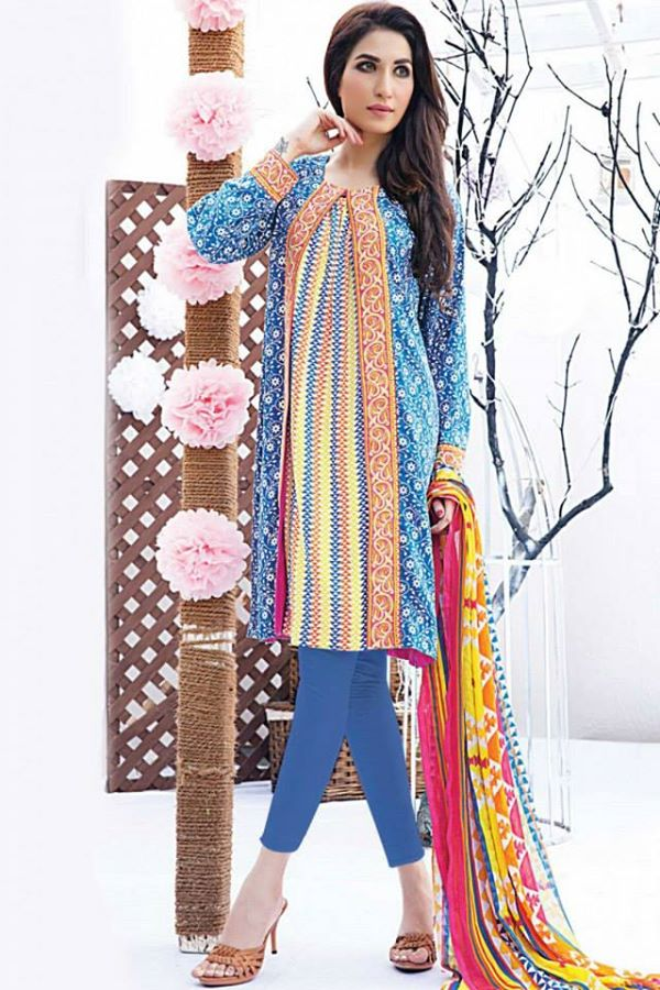 Satrangi By Bonanza Ready To Wear Cambric Lawn Dresses for Women