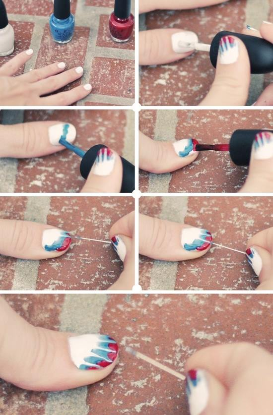 Step by Step Nail Art Picture Tutorial Best and Easy Designs To Try (1)
