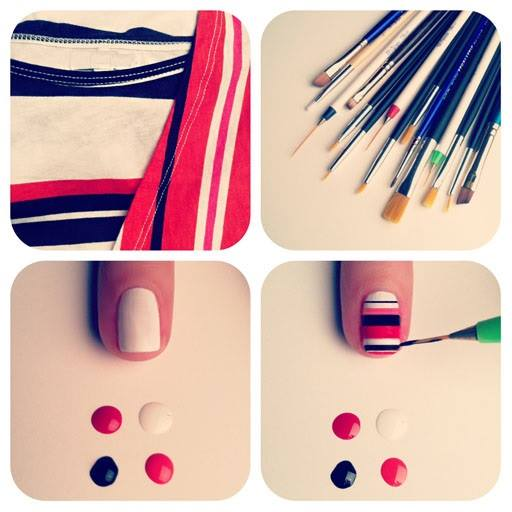 Step by Step Nail Art Picture Tutorial Best and Easy Designs To Try (22)